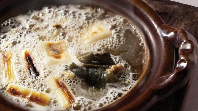 京懐石柿傳 - 料理写真:すっぽん鍋