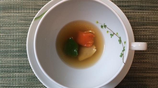 レストラン ピウ - 料理写真:3色のアニョロッティーニ