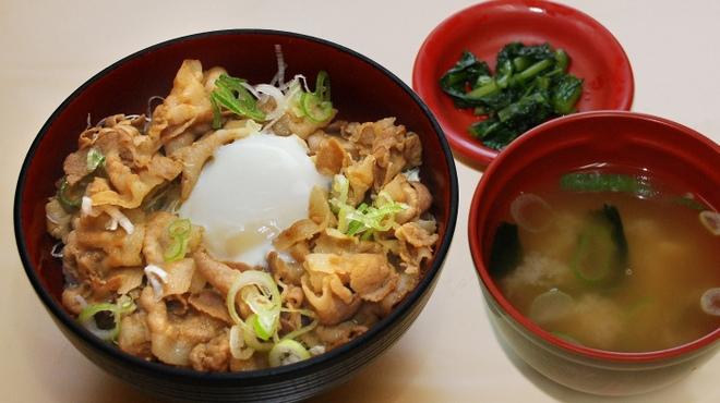 駒ヶ岳サービスエリア(上り) フードコート - 料理写真:信州ポークスタミナ丼