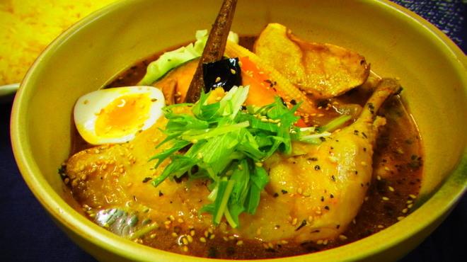 スープカリー専門店 元祖 札幌ドミニカ - 料理写真: