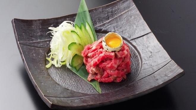 牛ざんまい - 料理写真:さくらユッケ