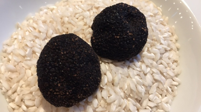 オステリア タナロ - 料理写真:フレッシュ黒トリュフ(入荷状況は要確認)