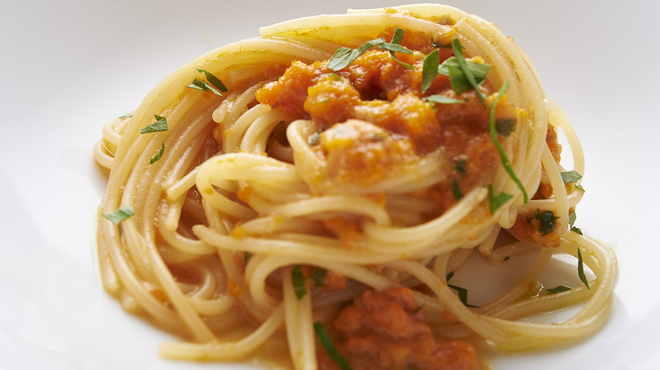 サルーチェ - 料理写真:三陸産 海水ウニのペペロンチーノ