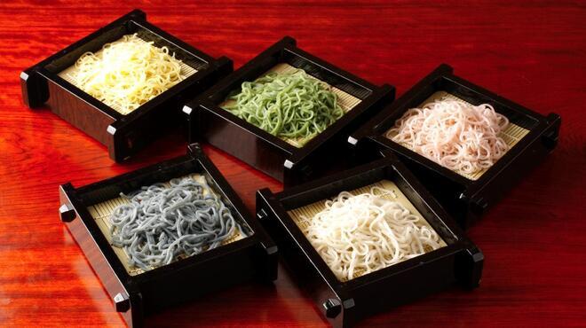 神田 本陣房 - 料理写真:3月3日 年に一度の5色盛もり