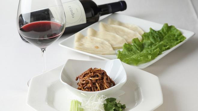 礼華 青鸞居 - 料理写真:牛肉の味噌炒めクレープ包み