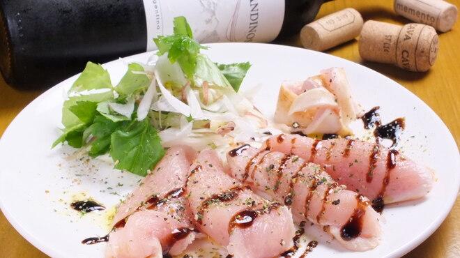 八王子大衆ビストロ ぐりぐり - 料理写真:鶏たたきのカルパッチョ