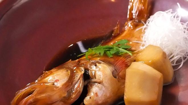 とっちゃば おいしい魚とこだわりの酒 - 料理写真:本日の煮魚