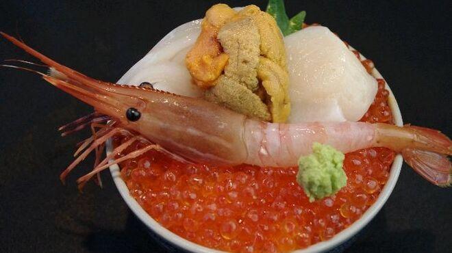 北海番屋 - 料理写真:北の五色丼
