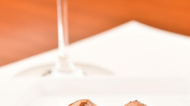 Rowazo - 料理写真:トマト巻き 備長炭焼
