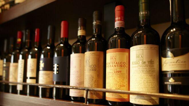 ヴィノテカサクラ - ドリンク写真:ボトルワイン ¥5,000~¥70,000