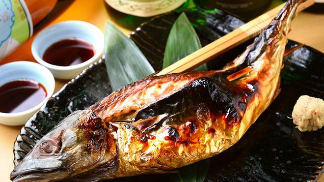 浜焼き鯖と挽きぐるみ蕎麦 きばり - メイン写真:
