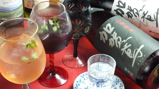 洋膳坊 楽の市 - 料理写真:地酒からワインまで!種類豊富なカクテルも!!