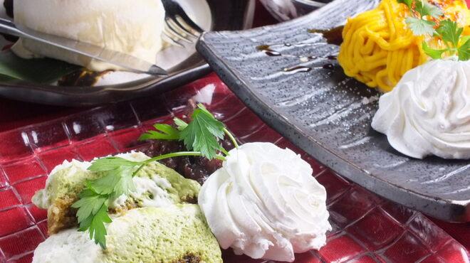 洋膳坊 楽の市 - 料理写真:〆は自慢の別腹デザートで!