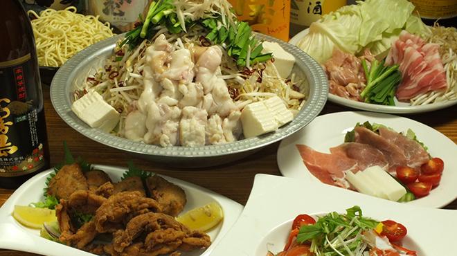 もつ鍋 永楽 - 料理写真:コース料理は2850円から