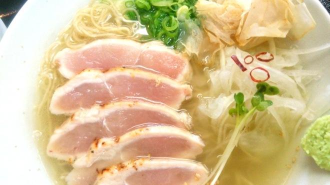 鶏そば - 料理写真:あさびきレアチャーシュー鶏そば