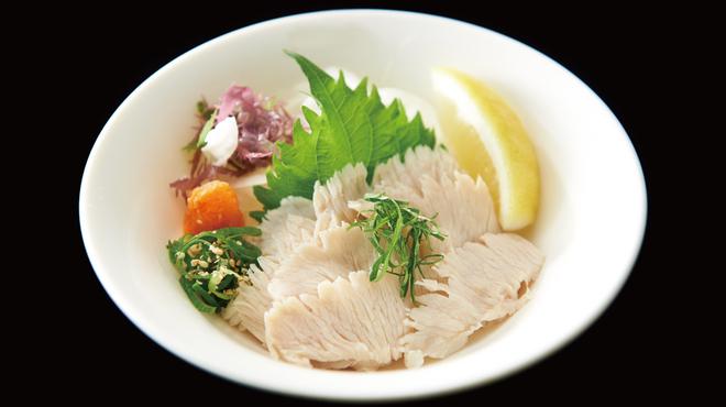 食道園 - 料理写真:上ミノ湯引き