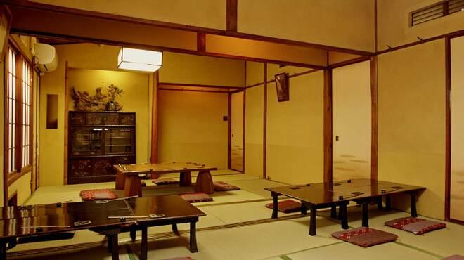 神楽坂おいしんぼ はなれ - 内観写真:団体貸切はお座敷大広間でお寛ぎください。