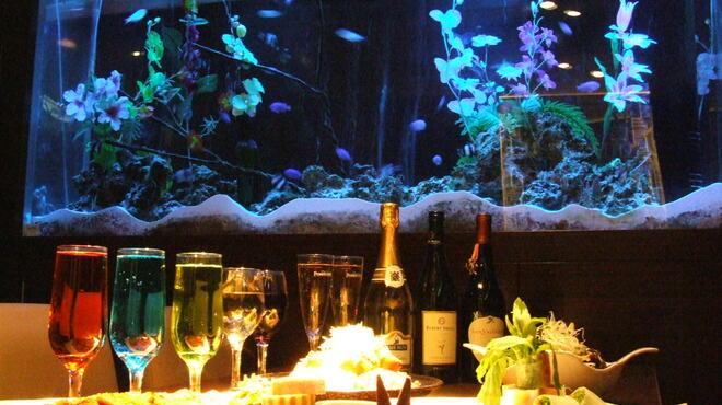 夜景ビアガーデン&チーズ手巻き焼肉 蒼の雫 - メイン写真: