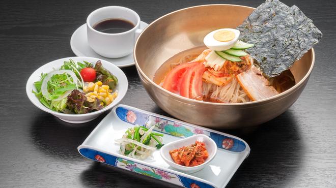 亜李蘭 - 料理写真:別邸冷麺ランチ
