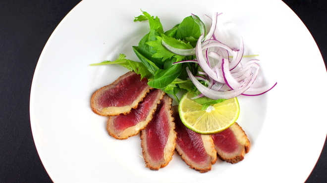 CAFE A LA TIENNE - 料理写真:鴨のカルパッチョ