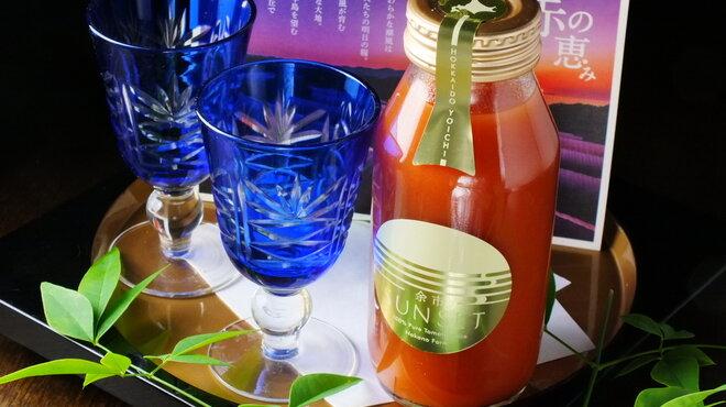 一匠 - ドリンク写真:余市奇跡のトマトジュース