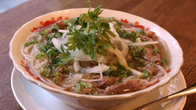 """ベトナム屋 DZO! - 料理写真:あっさりコク旨「牛肉のフォー""""フォーボー""""」"""