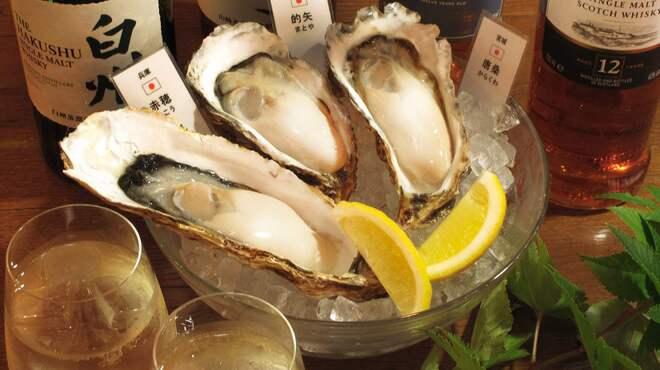 オイスターバー COVO - 料理写真:産地別に様々な牡蠣の味を食べ比べ