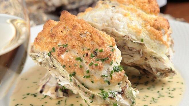 オイスターバー COVO - 料理写真:予約限定♪ふんわり牡蠣のスフレ