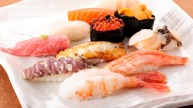 寿司処 旬 - 料理写真:当店一番のおススメ!握り『旬』 ¥3,300