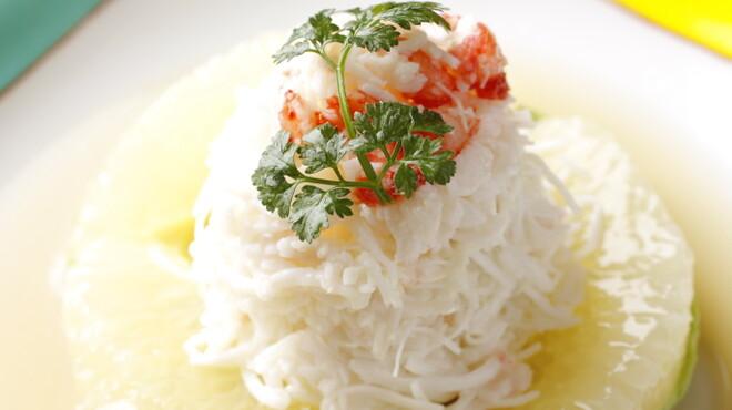 瀬里奈 - 料理写真:かにとアボガドサラダ