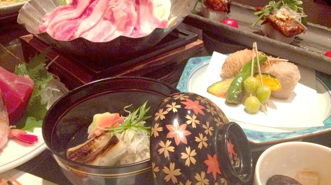 わさびの花 - 料理写真:冬の宴会コース