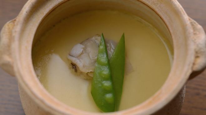 水たき玄海 - 料理写真:玄海茶碗蒸し ハマグリ出汁の茶碗蒸し