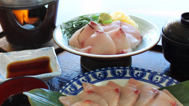 瑞松苑 - 料理写真:ぶりしゃぶとぶり丼