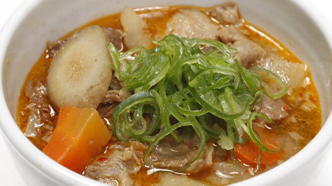 鳥園 - 料理写真:【牛スジ煮込み】看板料理!創業以来変わらぬレシピで牛スジを煮込んでいます。