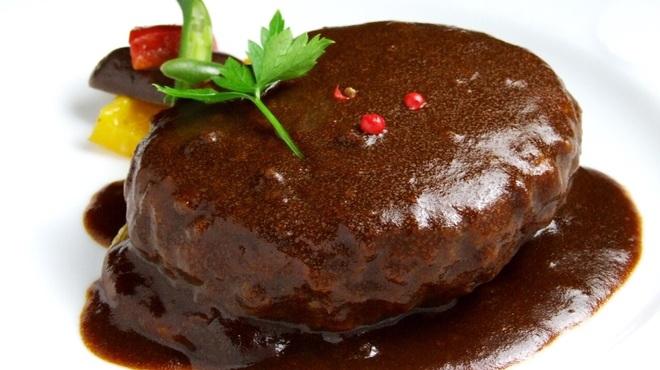 ビストロ ボナぺティ - 料理写真:一番人気のビストロハンバーグ!