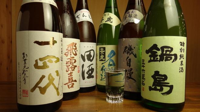 やきとん 木々家 - ドリンク写真:こだわり日本酒