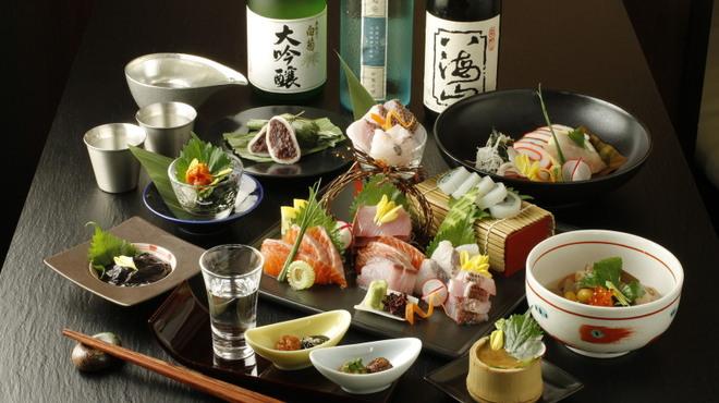 囲炉裏料理と日本酒スローフード 方舟 - 料理写真: