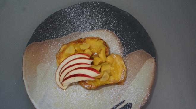 リュボン デ フリューティー アン カフェ - 料理写真:秋限定マロンフレンチトースト