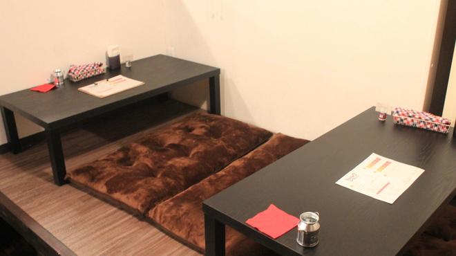Spice&mill - 内観写真:キッズスペース直結の小上がり席