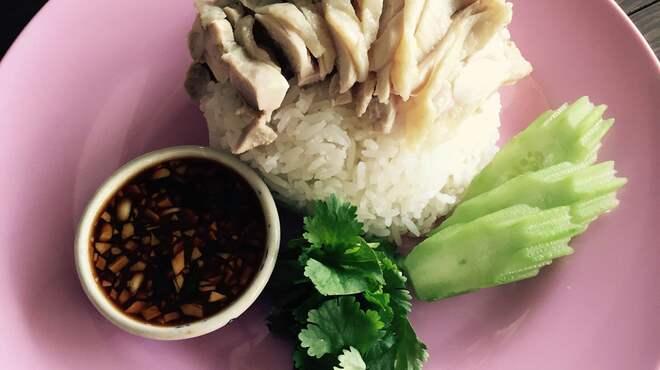 タイのごはん ラークパクチー - 料理写真:カオマンガイ