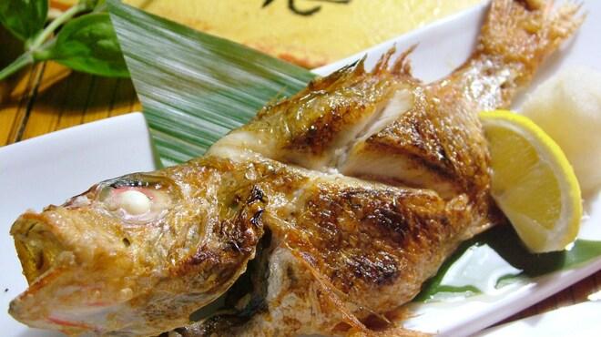 紙屋市べゑ - 料理写真:白身魚の王様『のど黒』炭火焼き!脂ものって益々美味。