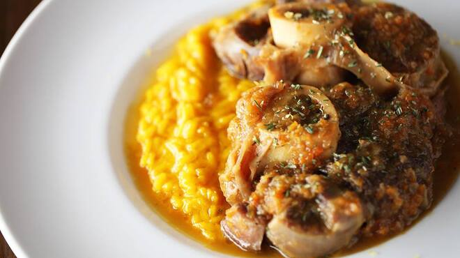 THE FUJIYA GOHONJIN - 料理写真:オッソブーコ 仔牛すね肉の煮込み
