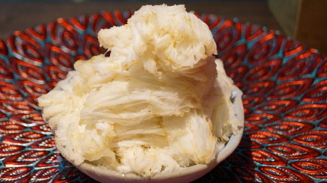 リュボン デ フリューティー アン カフェ - 料理写真:果実氷 山形産 ラフランス