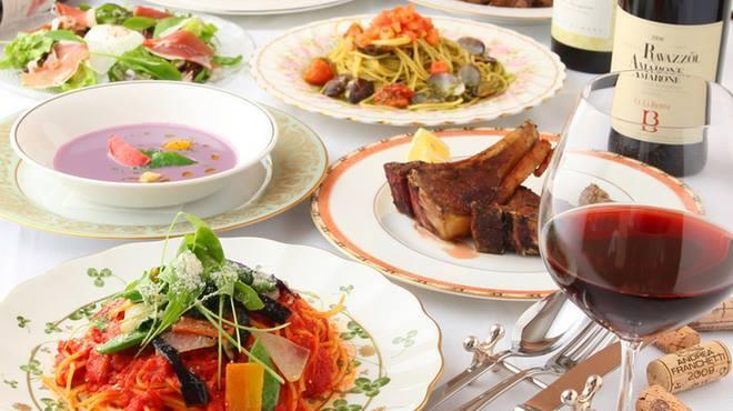 ナチュール - 料理写真:コース宴会料理、貸し切りも可能です!