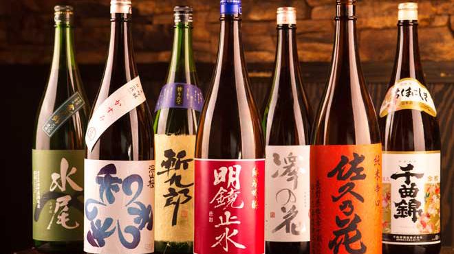 黒船 - ドリンク写真:日本酒