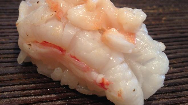 鮨 登喜和 - 料理写真:タラバエビ