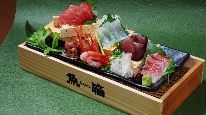 魚箱 - 料理写真:鮮度バツグン!! 「魚箱6点盛り」