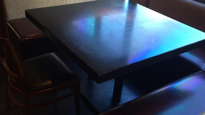 Hioki - 内観写真:テーブル2番のお席♪マックス8名様