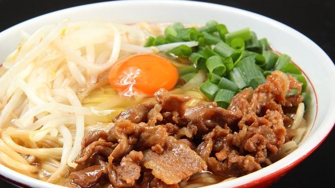 俊麺 なが田 - 料理写真:元氣肉玉そば