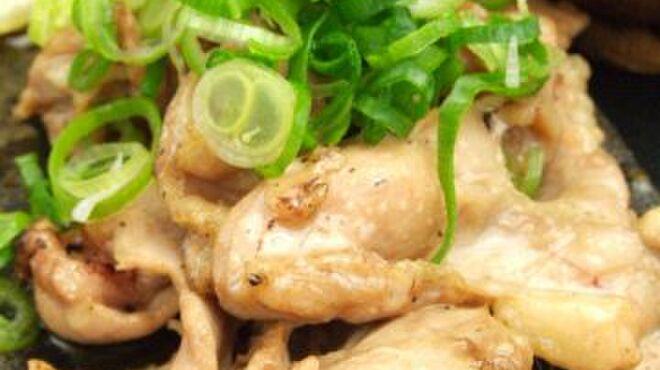 たか鳥 - 料理写真:ハラミの葱ポンおろし